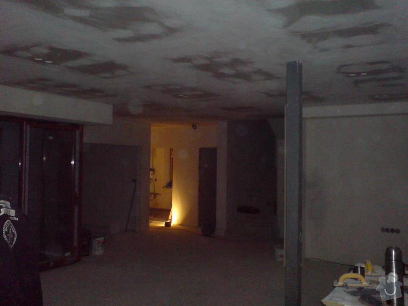 Stropní podhledy rodinného domu: DSC00017