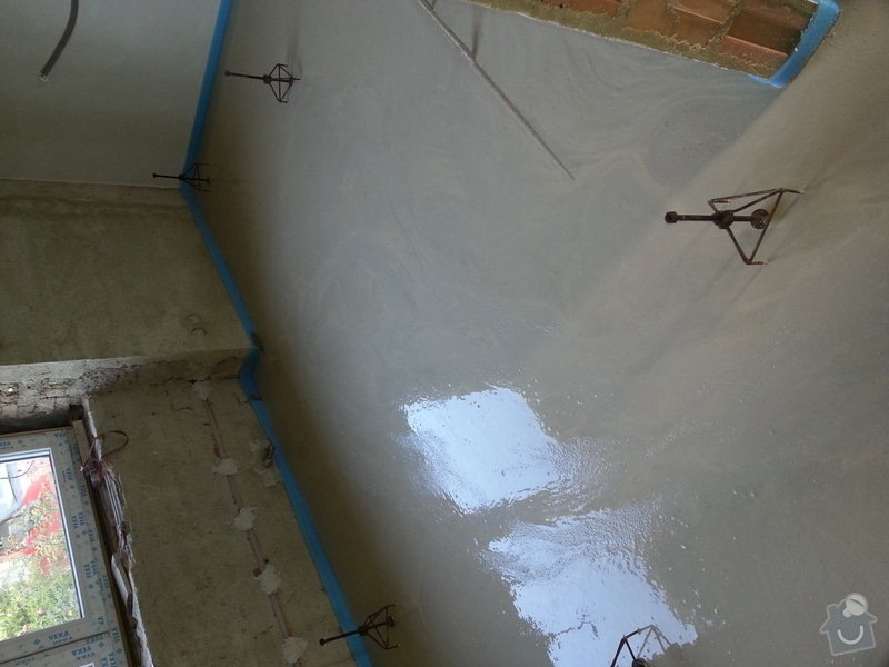 10/2014 RD Blažovice, anhydritová podlaha 132 m2: IMG_20141030_131354