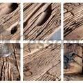 Obyvaci stena drevo