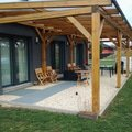 Vyroba drevene terasy 50 m2 aktualni stav