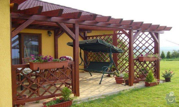 Záhradní domek a pergola: Pergola_2