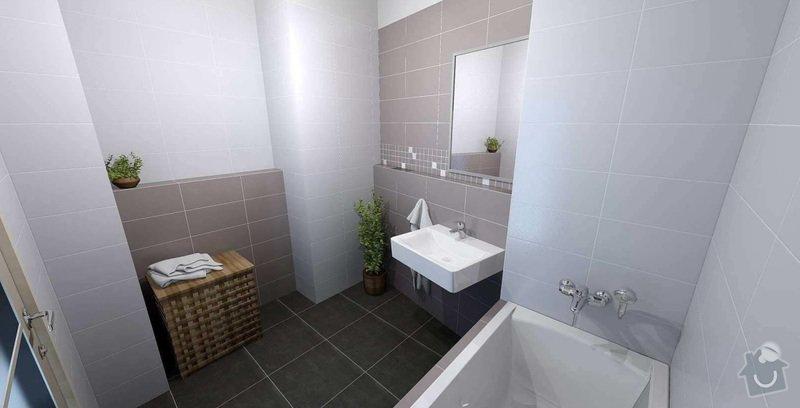 Obklad - kachlicky v kupelni a WC: Koueplna