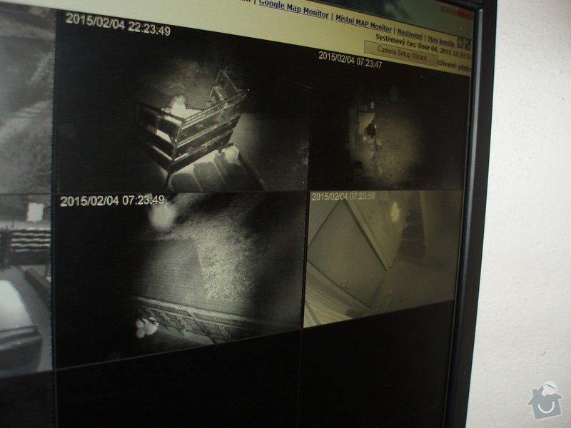 Montáž kamerového systému a zabečení.: P1010002