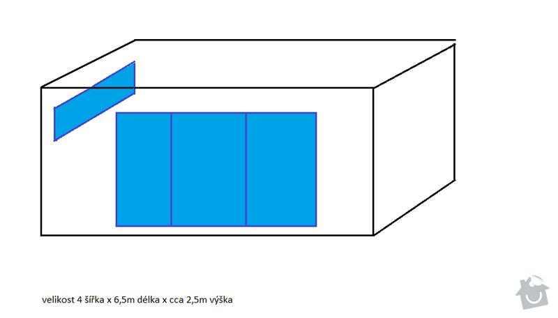 Stavebnictví - zděný zahradní domek: umisteni-oken-vstup_e8c3425a