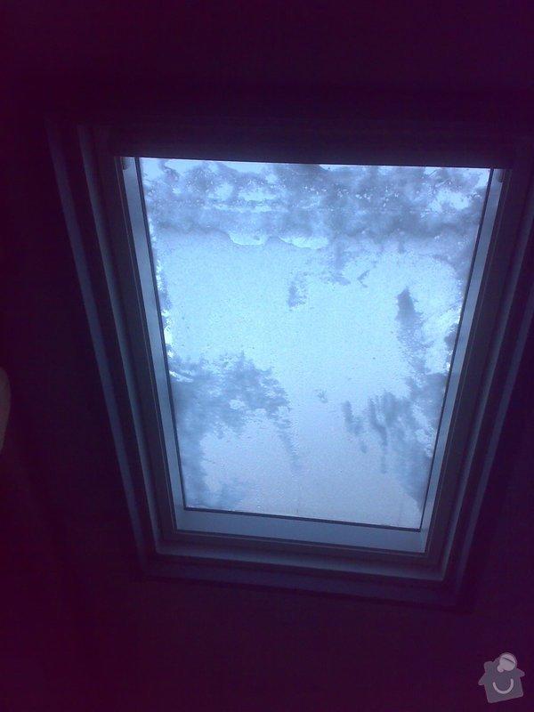 Oprava podkroví - nové schodiště, zateplení střechy, 2 střešní okna: 06022015395