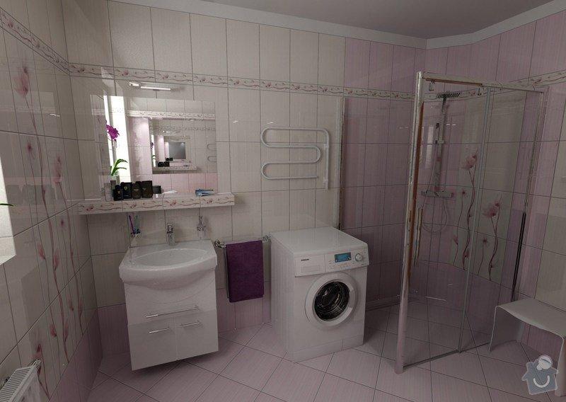 Obkladačské a zednické práce: koupelna_Orfe_pohled_umyvadlo
