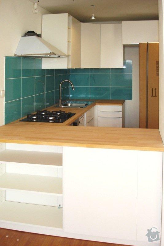 Instalace kuchyně Ikea: VE_010