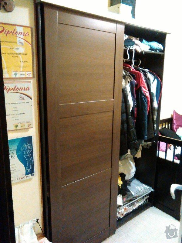 Dveře do skříně -posuvné: Neposkozene