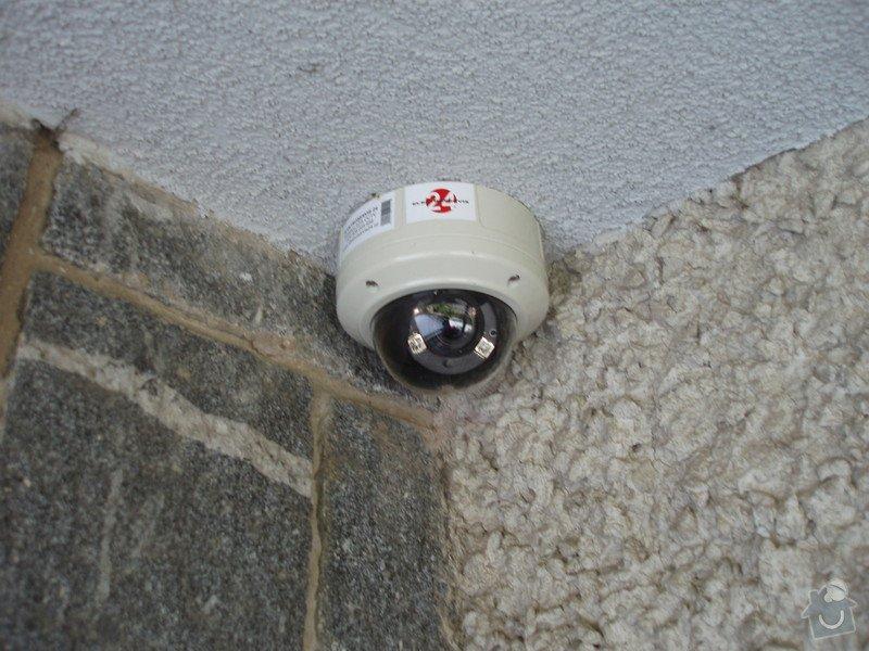Montáž kamerového systému a zabečení.: P1010006