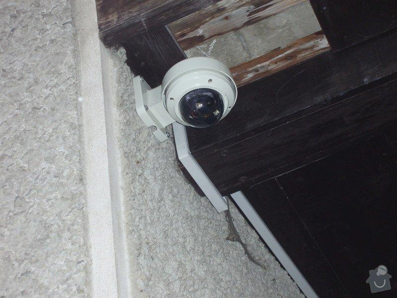 Montáž kamerového systému a zabečení.: P1010003