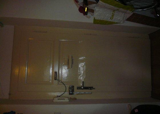Čalounění dveří + včetně těsnění