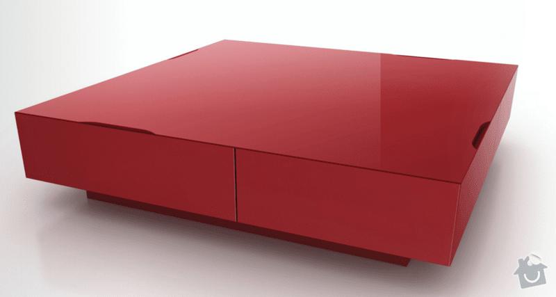 Vyroba nabytku - konferencni stolek: priklad_1
