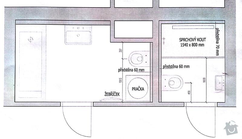 Rekonstrukce koupelny: Novy_stav
