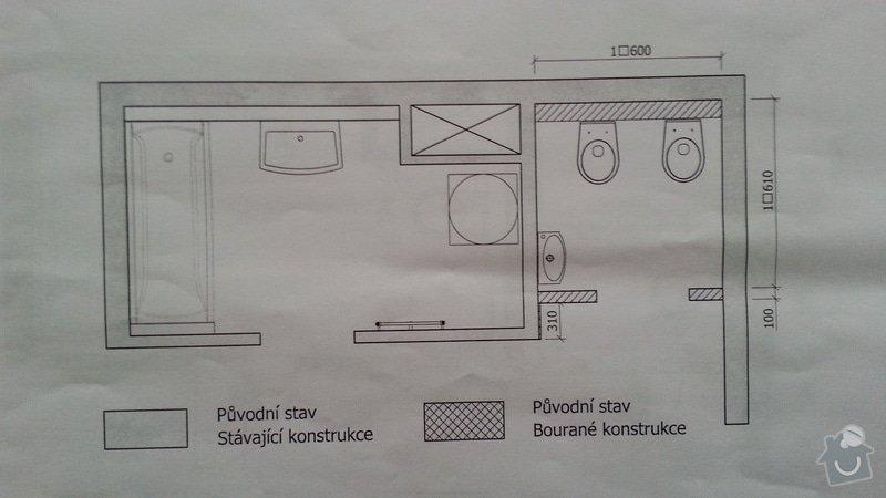 Rekonstrukce koupelny: Puvodny_stav