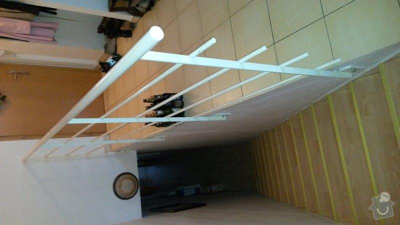 Obložit kovové zábradlí dřevem: 20150208_124618_1_