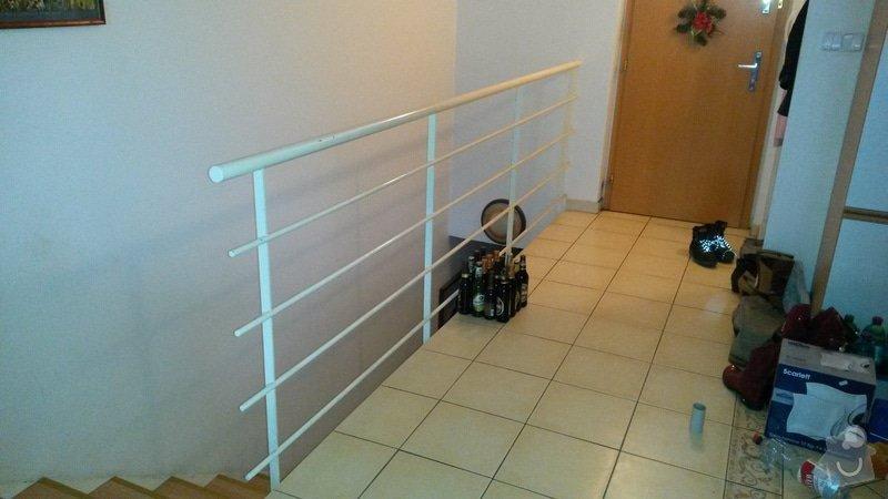 Obložit kovové zábradlí dřevem: 20150208_124553_1_