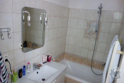 Výměna vany a umyvadla vč. baterií: koupelna