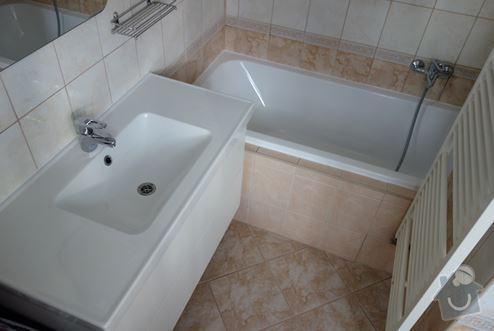 Výměna vany a umyvadla vč. baterií: koupelna1