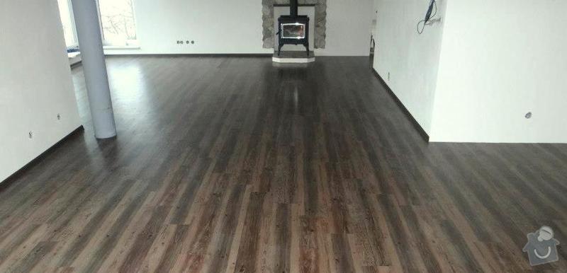 Pokládka vinylové plovoucí podlahy Wineo DesignLine Laguna.: Hori