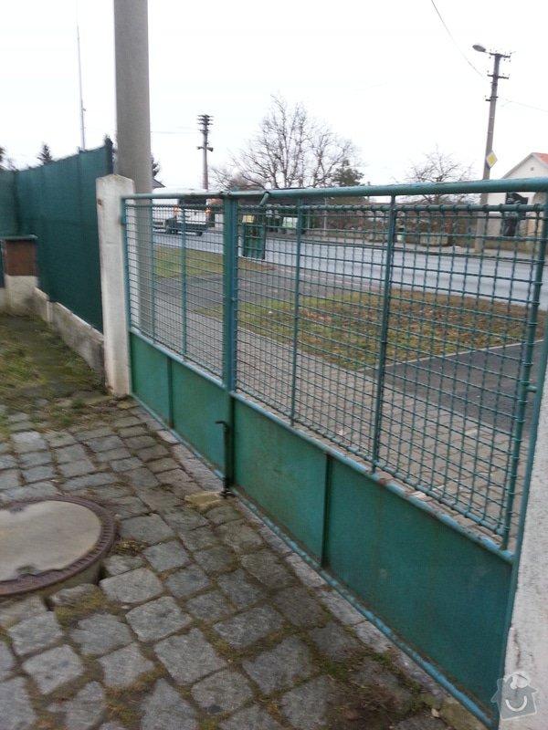 Vjezdová brána + branka: foto20150209170243169