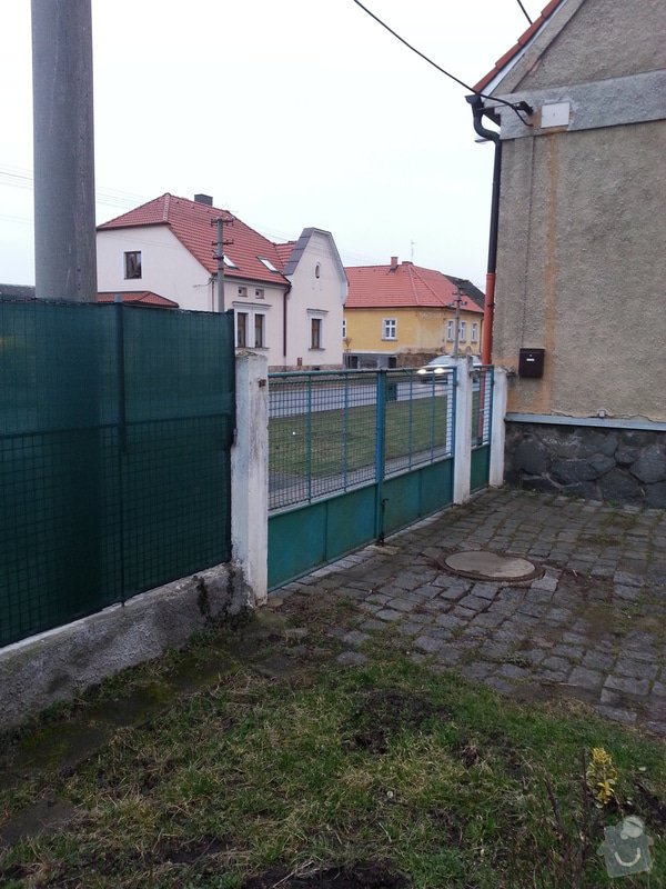 Vjezdová brána + branka: foto20150209170302137