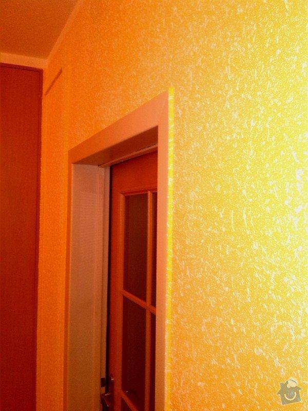 Nástřik chodby, oprava koupelny po vytopení: Nastrik_Gotele_do_predsine_zluto-oranz_1_