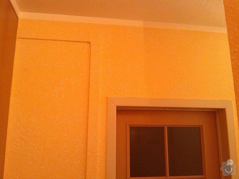 Nástřik chodby, oprava koupelny po vytopení: Nastrik_Gotele_do_predsine_zluto-oranz_2_