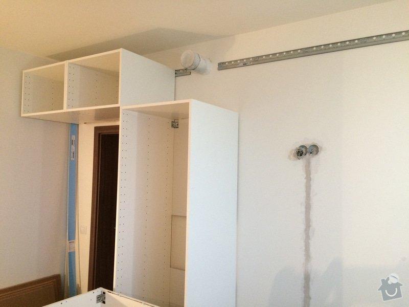Montáž kuchyně Ikea + rozvod elektro- zásuvek : 093