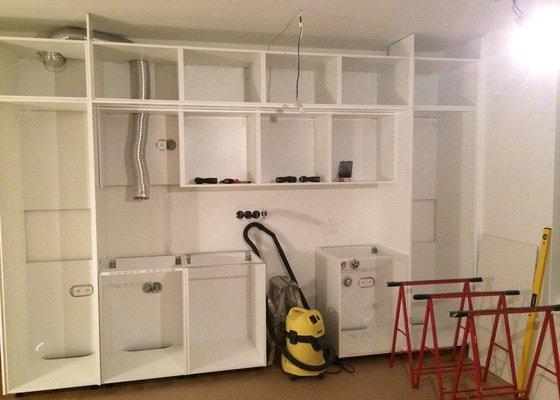 Montáž kuchyně Ikea + rozvod elektro- zásuvek