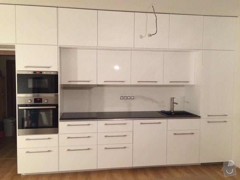 Montáž kuchyně Ikea + rozvod elektro- zásuvek : 099