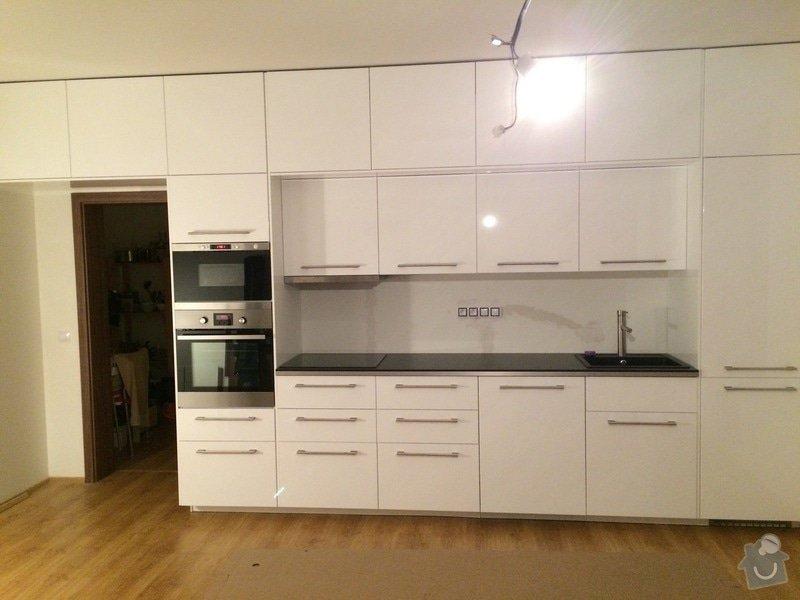 Montáž kuchyně Ikea + rozvod elektro- zásuvek : 100