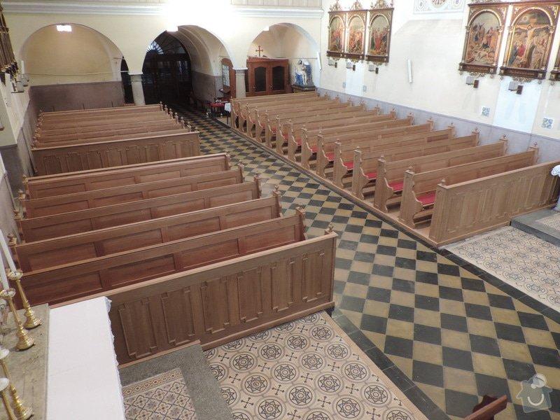 Výroba a montáž kostelních lavic: Nove_lavice