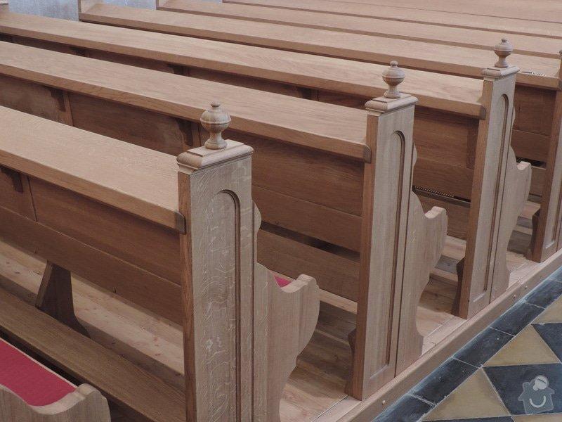 Výroba a montáž kostelních lavic: Nove_lavice_-detail