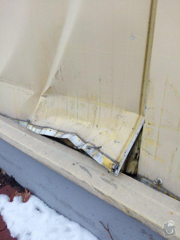 Klempířské práce - oprava nabourané fasády: IMG_20150209_155830