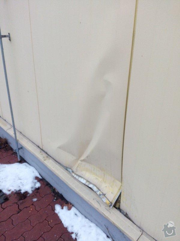 Klempířské práce - oprava nabourané fasády: IMG_20150209_155838