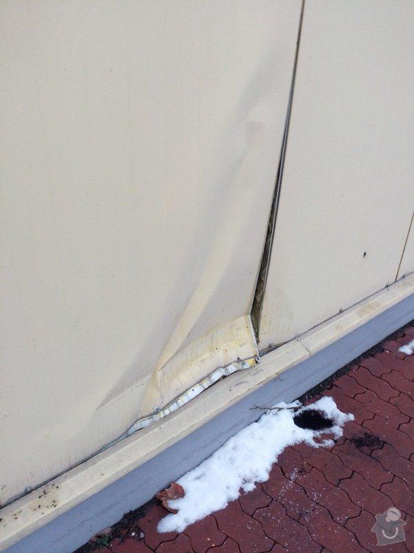Klempířské práce - oprava nabourané fasády: IMG_20150209_155845