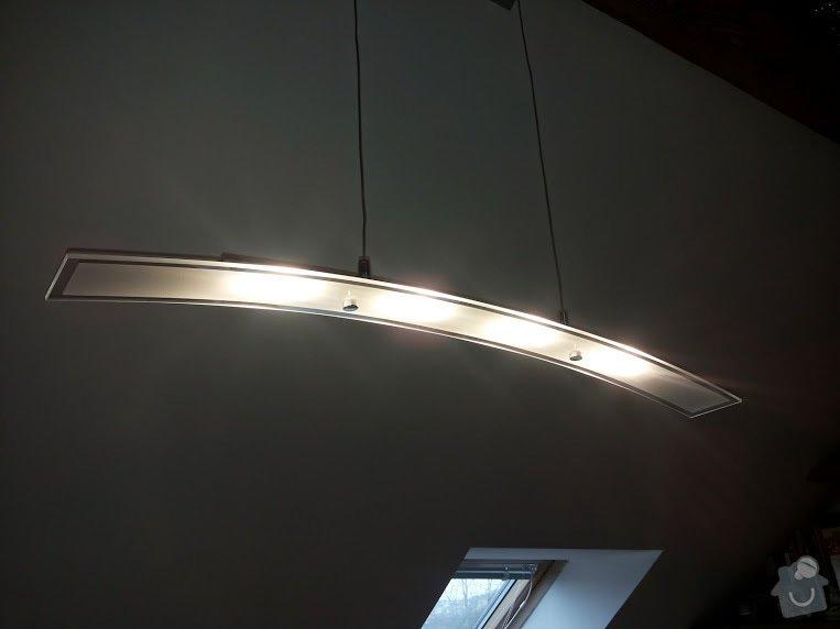 Montáž a zapojení 14ti svítidel v bytě: 20150210_113343