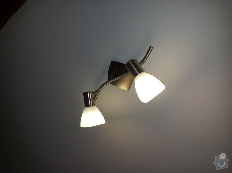 Montáž a zapojení 14ti svítidel v bytě: 20150210_113351
