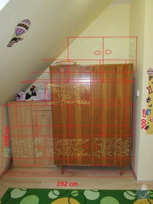Úložné prostory v dětském pokoji: work