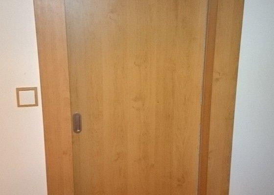 Zašupovací dveře, vestavná skříň