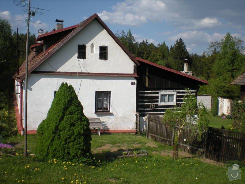 Rozebrání staré střechy : 01-celni_pohled_ze_zahrady_259