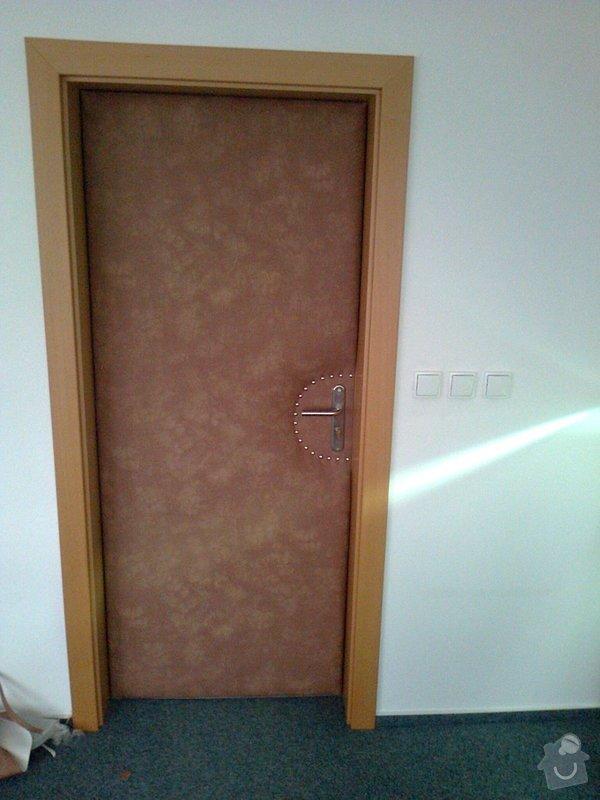 Čalounění vstupních dveří: Fotografie0714