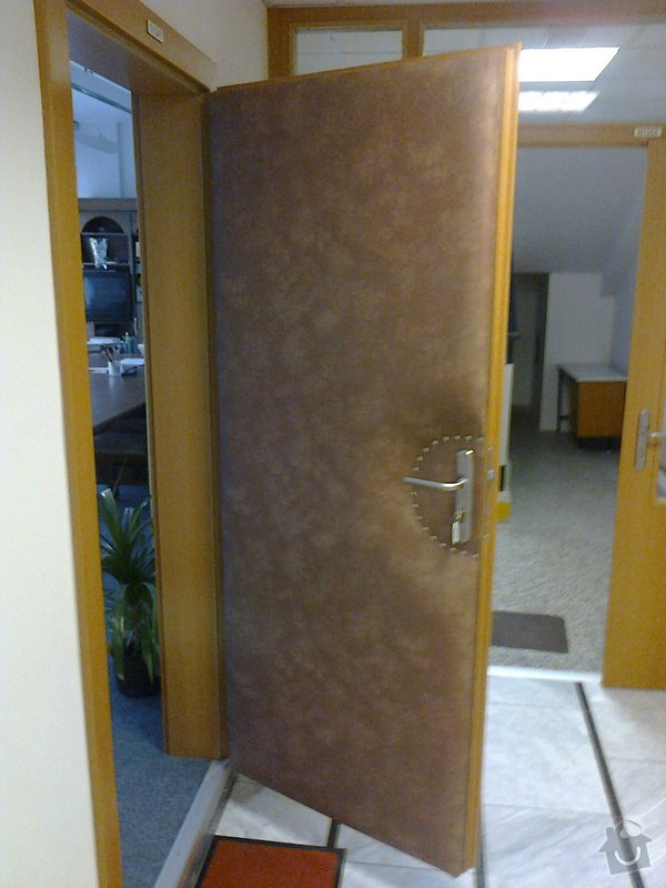Čalounění vstupních dveří: Fotografie0715