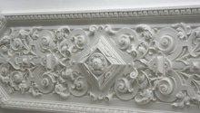 Vyčištění štukové výzdoby a výmalba + fasáda objektu knihovny
