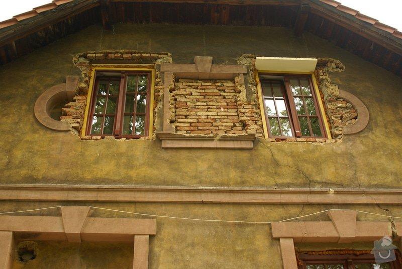 Kompletní rekonstrukce fasády rodinného domu: DSC09689
