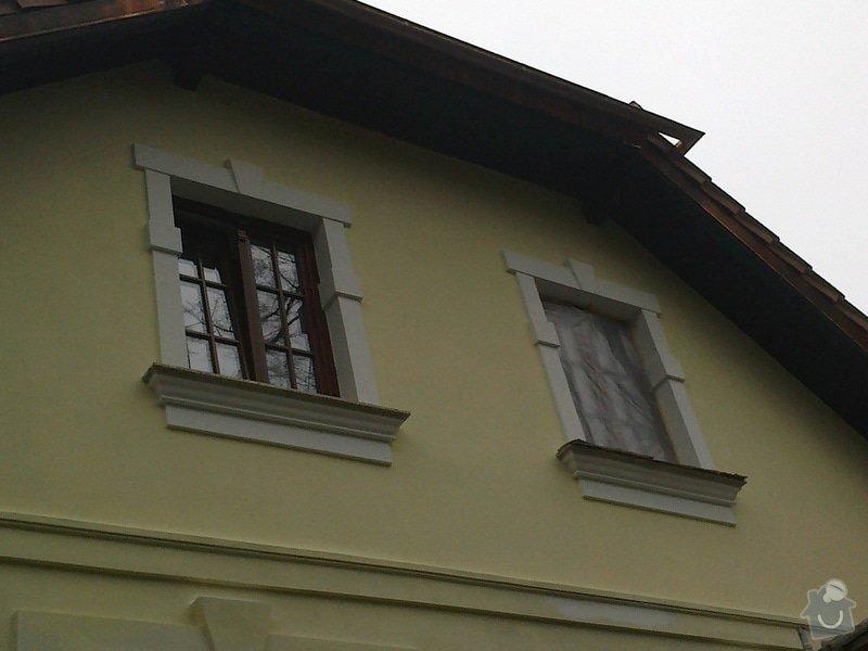 Kompletní rekonstrukce fasády rodinného domu: 25102013055
