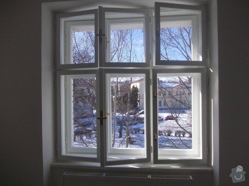 Lakování a tmelení oken a dveří: 004
