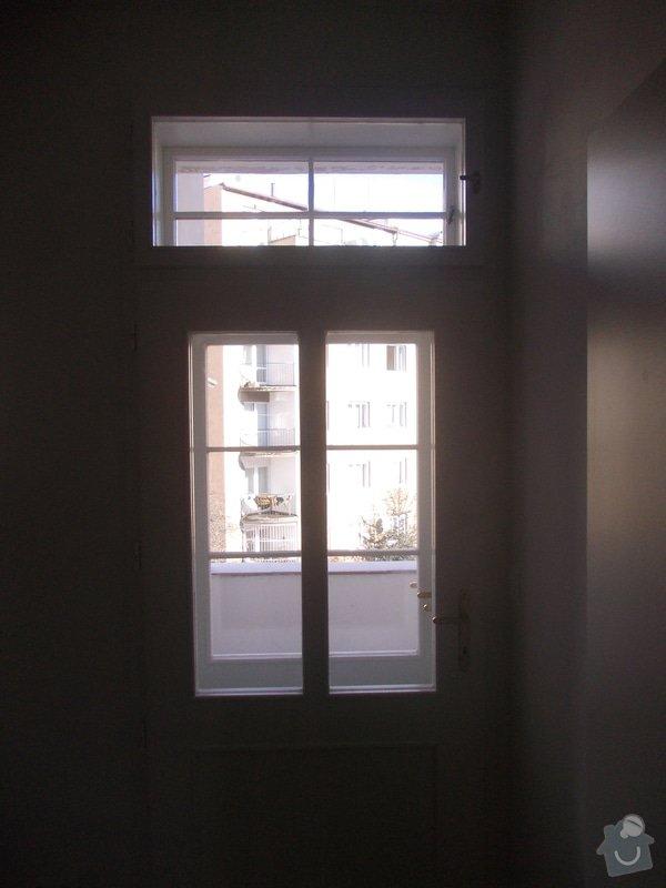Lakování a tmelení oken a dveří: 009