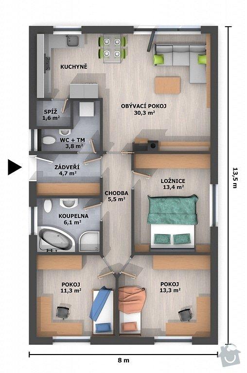 Výstavba rodinného domu na klíč: domek_4