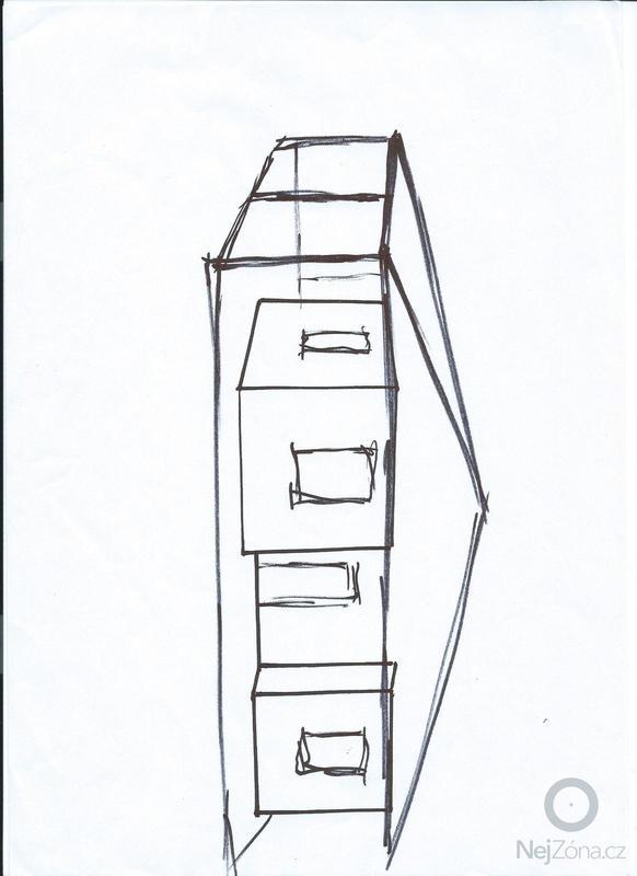 Zhotovení střechy .: domek